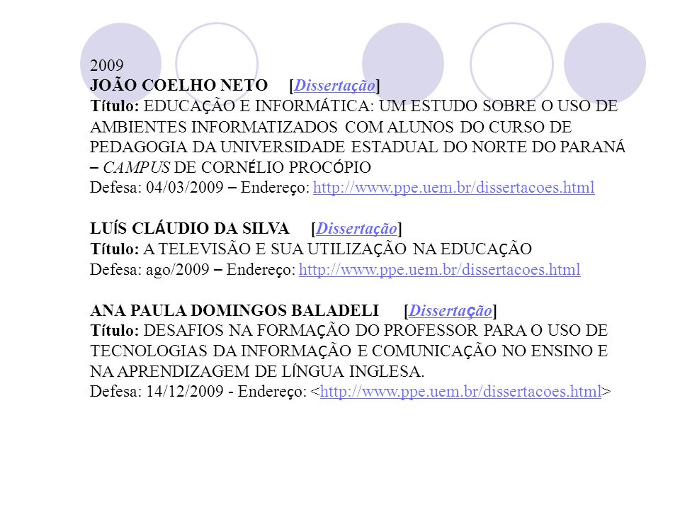 2009JOÃO COELHO NETO [Dissertação]